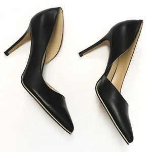 • Marc Fisher • Black Heels Gold Sole Lining [CW]